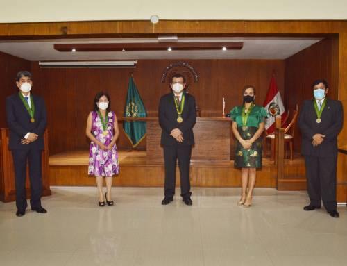 Juramentación de la nueva Junta Directiva y Tribunal de Honor 2021 – 2022